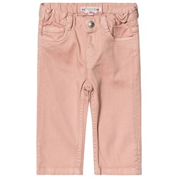 Bonpoint Pull Up Jeans Pink