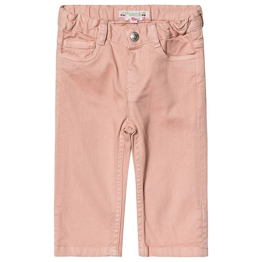 Bonpoint Pull Up Jeans Rosa 025C