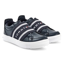 Tommy Hilfiger Low Cut Sneakers Marinblå