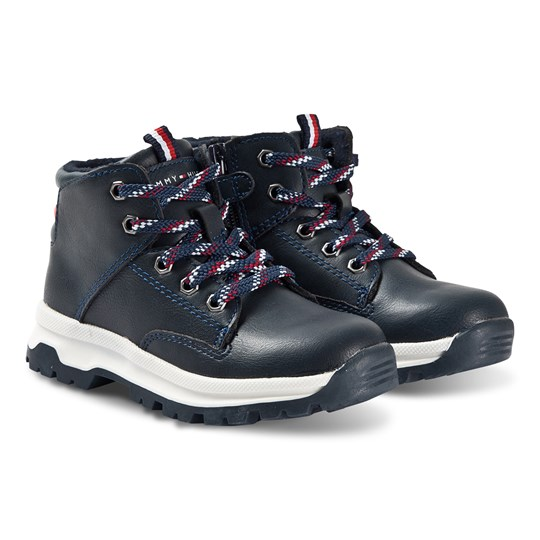 Tommy Hilfiger Mid Cut Boots Blue 800