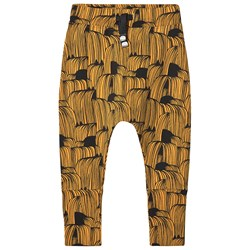 Papu Hold Your Horses Patch Baggy Byxor Earth Ocher/Svart