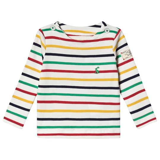Tom Joule Stripe Harbour Infants Long Sleeve Tee Cream CREAM MULTI STRIPE