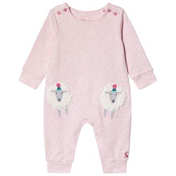 Joules Sheep Gracie One-Piece Pink