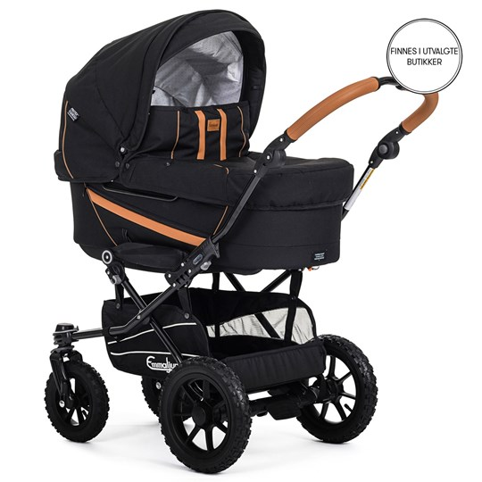 Emmaljunga Edge Duo Barnevogn Outdoor Svart 2019 Black