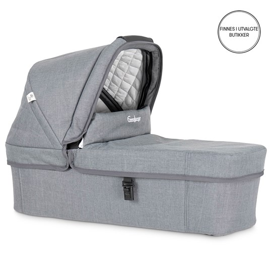 Emmaljunga NXT Liggedel Lounge Grey Eco Black