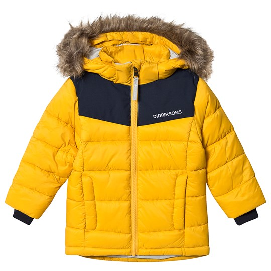Didriksons Digory Puff Jacket Oat Yellow Oat Yellow