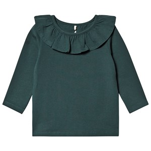 Image of A Happy Brand Flæse Top Forest Green 110/116 cm (1344554)