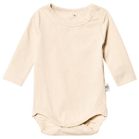A Happy Brand Long Sleeve Baby Body Champagne