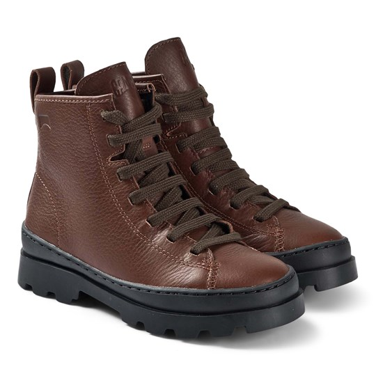 Camper Brutus Boots Brown 001
