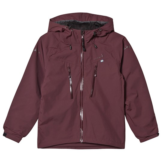 Isbjörn Of Sweden Monsune Hard Shell Jacket Bordeaux Bordeaux
