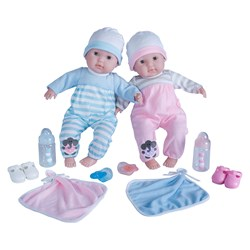 JC Toys Berenguer Boutique Twins Deluxe Gift Set