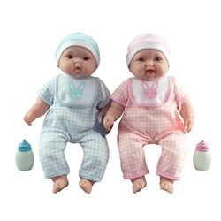 JC Toys Lots to Cuddle Babies Twins