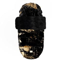 Bjällra of Sweden Footmuff Black Golden Collection