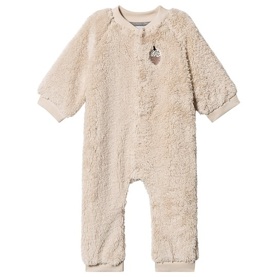 One We Like Teddy Acorn One-Piece Sand Sand