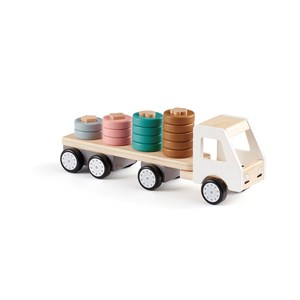 """Image of Kid""""s Concept Aiden Ring Sorting Truck Hvid One Size' (1422945)"""