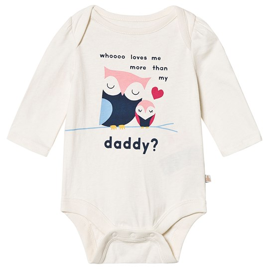 GAP Owls Baby Body Oatmeal Dad 673
