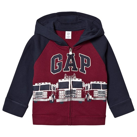 GAP Fire Truck Hoodie Red Delicious RED DELICIOUS