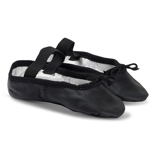 Bloch Arise Leather Ballet Slippers (Width C) Black Black