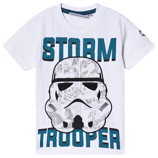 Fabric Flavours Star Wars Stormtrooper Comic Tee White White