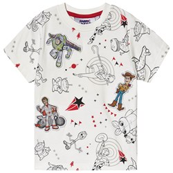 Fabric Flavours Toy Story Tee White
