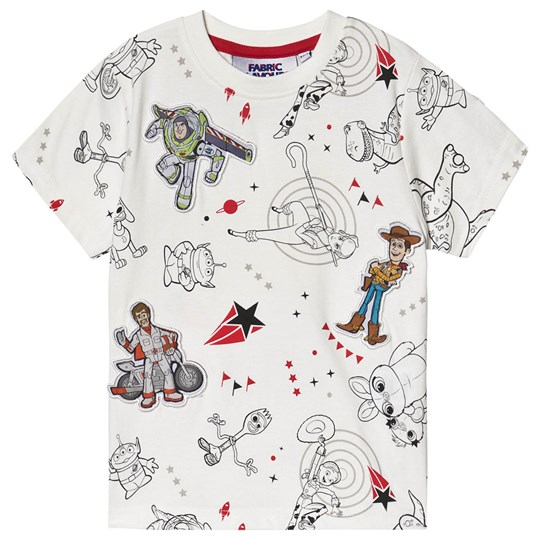 Fabric Flavours Toy Story T-shirt Hvid off-white