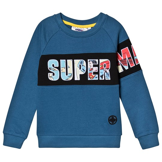 Fabric Flavours Superman Sweatshirt Blue Blue
