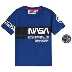 Fabric Flavours NASA Mission Specialist T-shirt Blå
