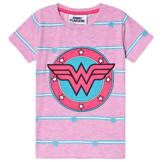 Fabric Flavours Wonder Woman Tee Pink Pink