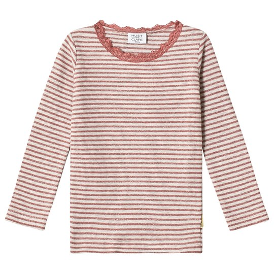 Hust&Claire Alanis Tee Rosewood Rosewood