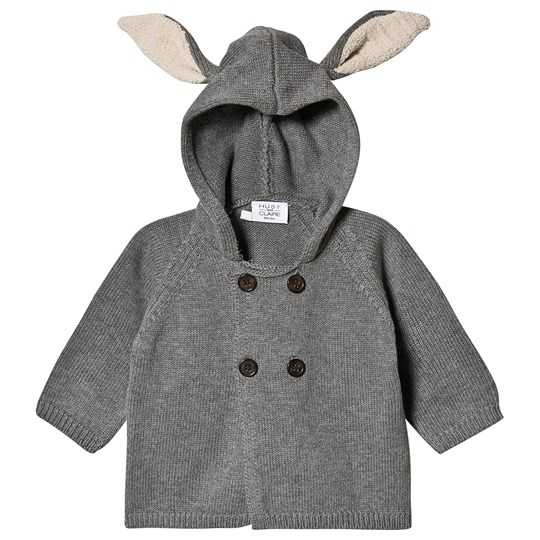 Hust&Claire Cookie Cardigan Grey Blend Grey Blend