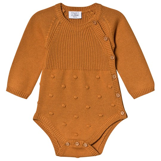 Hust&Claire Bessie Wrap Body Caramel Caramel