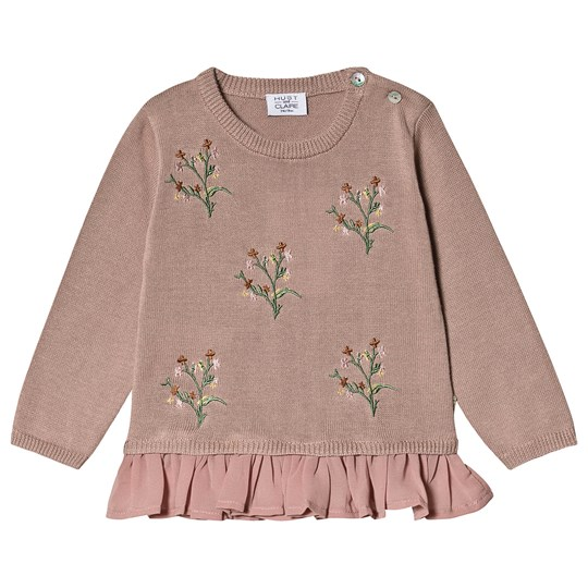 Hust&Claire Pylle Sweater Shade Rose Shade rose