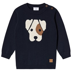Hust&Claire Pilou Sweater Navy