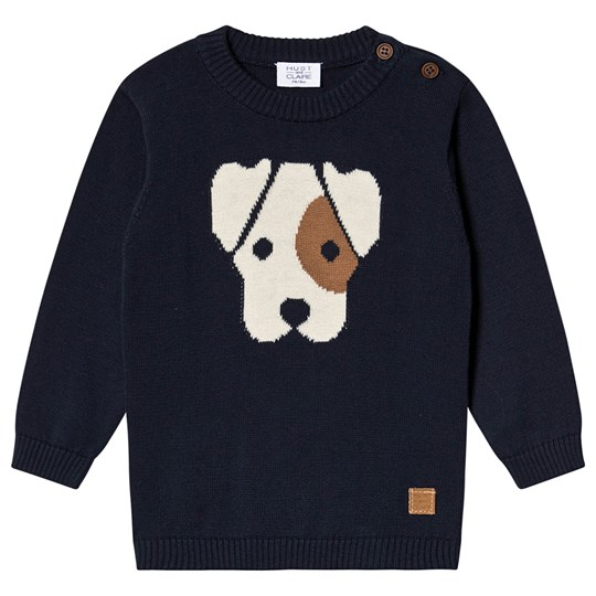 Hust&Claire Pilou Sweater Navy Navy