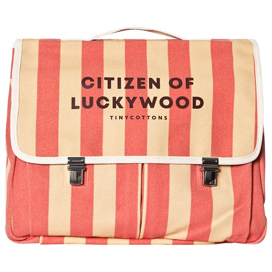 Tinycottons Citizen Backpack Sand/Red Sand/Red