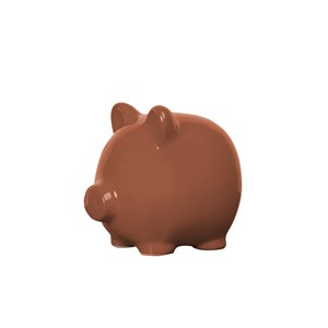 Image of By On Greta Piggy Bank Sienna One Size (1464399)