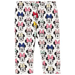 GAP Minnie Mouse™ Leggings Ivory Frost