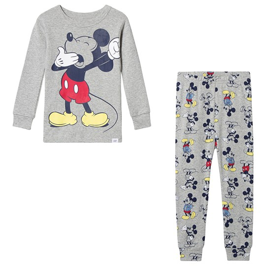 GAP Mickey Mouse™ Pajama Light Heather Grey Light Heather Grey