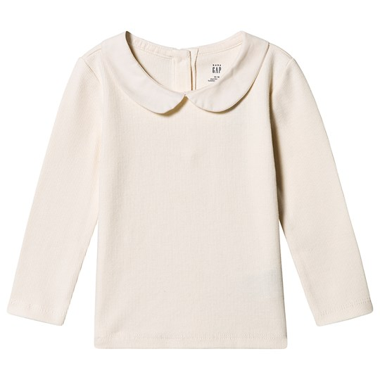 Gap Collar T-shirt Ivory Frost IVORY FROST