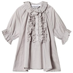 How To Kiss A Frog Miza Blouse Grey