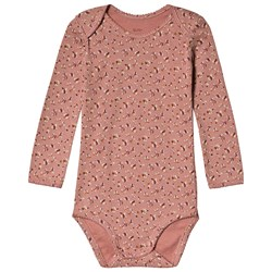 Noa Noa Miniature Floral Baby Body Old Rose