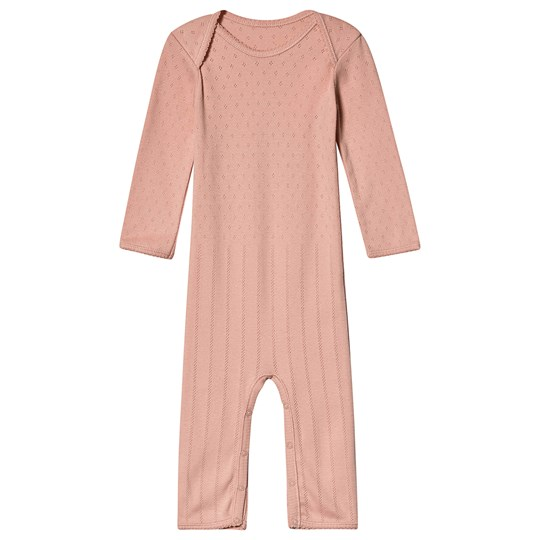 Noa Noa Miniature Pointelle One-Piece Peach Beige PEACH BEIGE
