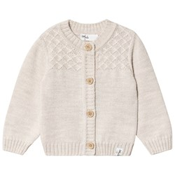 Little Jalo Knitted Cardigan Cream