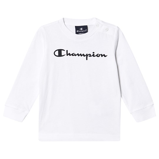 Champion Branded Baby T-Shirt White WHT
