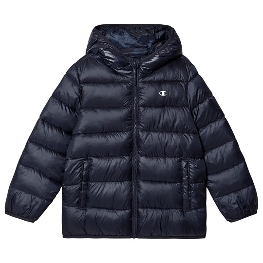 Champion Branded Puffer Jacket Navy NNY/NNY/ALLOVER GP5512