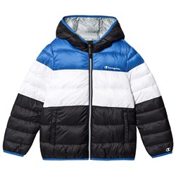 Champion Branded Puffer Jacket Blue/Navy