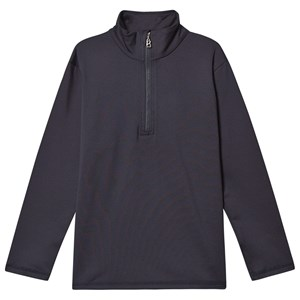 Image of Bogner Benny Half Zip Baselayer Top Navy S (5-6 years) (1399437)