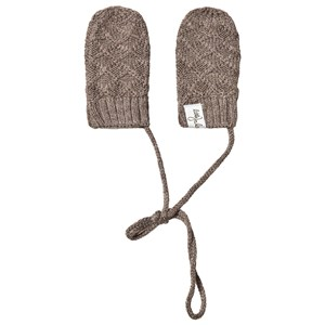 Image of Little Jalo Knitted Babyvanter Wood Brown 50/56 cm (1331175)