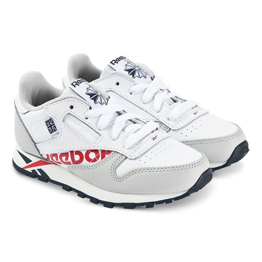 Reebok Classic Sneakers White WHITE/GREY/NAVY/RED/CHALK