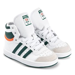 adidas Originals Top Ten Infant Sneakers White and Green